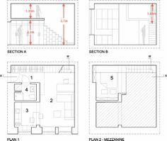 planos-planta-secciones-apartamento-29m2