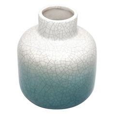 Liven up your home décor with the BLUE CERAMIC VASE. Visit your local At Home store to purchase and find other affordable Vases. Ceramic Vase, 5 W, Ceramics, At Home Store, Decoration, Blue, Homes, Living Room, Home Decor