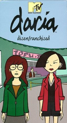 Daria Morgendorffer and Jane Lane....I used to love this show!!!!!!! <3