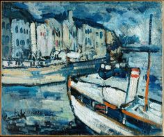 Maurice de Vlaminck. The Port of Le Havre, ca. 1906