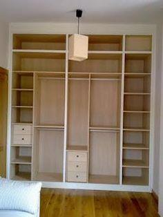 1000 images about armarios on pinterest interiors - Distribucion de armarios empotrados por dentro ...
