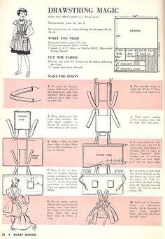 Marimekko Apron sewing pattern