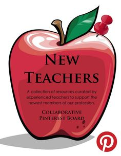 PTO 8: This is an excellent resource for new teachers. It is a Pinterest board completely devoted to providing resources for new teachers in regards to classroom management, organization, handling paperwork and so on. It is so important as teachers to encourage one another and provide helpful resources for one another's success.