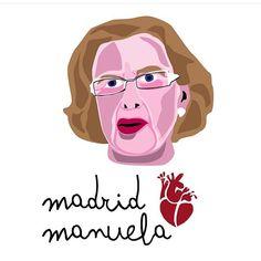 Manuela, te llevo en el corasao. @elhijodecolin #MadridconManuela #manuelacarmena #24m