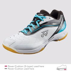 The SHB PC 65 (Wide) badminton shoe's wide fit cups your foot providing for guaranteed stability and comfort. Get yours at Badminton Warehouse! Babolat Tennis, Air Max Sneakers, Sneakers Nike, Badminton Shoes, Racquet Sports, Wide Feet, Men's Shoes, Wide Shoes, Leather Bag