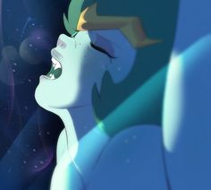 """shunicamilogemus: """"Anime space queen comes, claims she saw stars, and Lars """""""