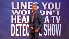Lines You Wouldn't Hear on a TV Detective Show - Mock the Week: Series 1...