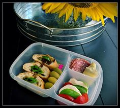 """""""It's a big day today...I'm having lunch too! I mean, an actual lunch. Not just my kid's scraps or crusts:) #EasyLunchboxes are great for grownups too!"""""""