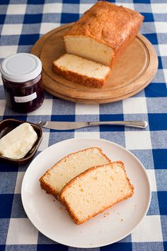 """GF Pound Cake from Kyra Bussanich, author of """"Sweet Cravings: 50 Seductive Desserts for the Gluten Free Lifestyle"""""""