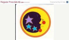 moon and stars sticker Star Stickers, Window Stickers, Mary Tyler Moore, Janis Joplin, Ferrari Logo, Sticker Paper, Nostalgia, Moon, Stars