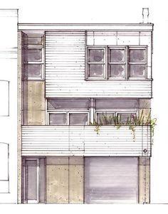 Welcome to the Urban Living Project – homes designed to be affordable, beautiful, and environmentally sensitive alternatives for city living. Each 2,000 square foot house utilizes a prototype design approach, is tailored for an urban lot, and features a carport, balcony, and courtyard.