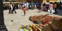 Inca Mallorca...lots of leather goods outlets