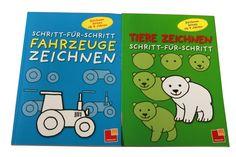 Mit Nadel und Faden: Buchtipp: Schritt-für-Schritt Fahrzeuge/Tiere Zeichnen