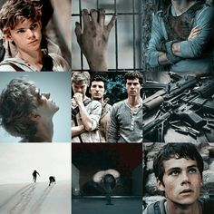 Aesthetic The Maze Runner Newt and Thomas