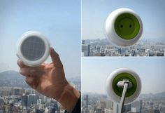 Solar Window Socket | Cool Solar Powered Inventions