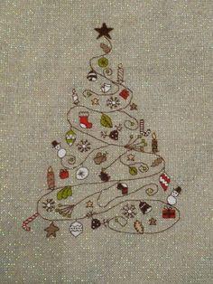 Modèle d'arbre de Noël par SelsCraft sur Etsy