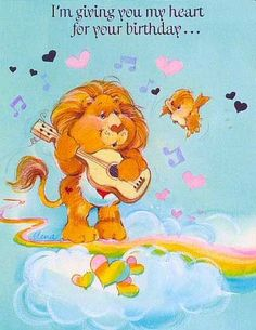 Care Bear Cousins Braveheart Lion