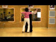 American Waltz, Circling Underarm Turn. Video Dance Lesson.