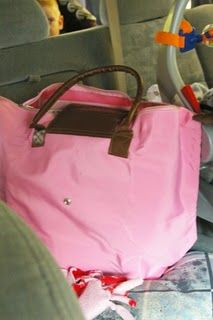 Marry Poppins Bag! Bag for car with lots of activities for kids.