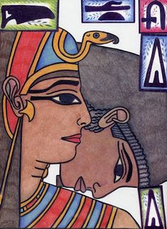 Ancient Egyptian Collage Elements