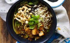 Miso Ramen Bowl With Tellicherry Black Pepper Tofu [Vegan] | One Green Planet