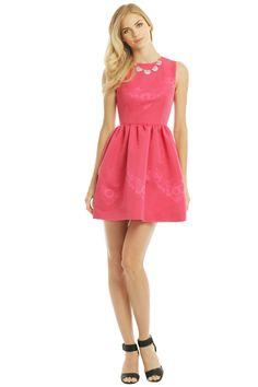 pink party dress wedding guest dress #weddingguestdress