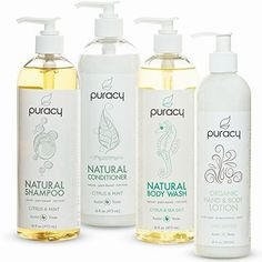 Puracy Natural and Organic Personal Care Set, Sulfate Free Body Wash, Shampoo, Conditioner, Body Lotion, Developed by Doctors, (Pack of 4)  BUY NOW     $39.99     Are you looking for a set that delivers high performing, luxurious, organic bath and body products? Our natural and organic p ..  http://www.beautyandluxuryforu.top/2017/03/14/puracy-natural-and-organic-personal-care-set-sulfate-free-body-wash-shampoo-conditioner-body-lotion-developed-by-doctors-pack-of-4/
