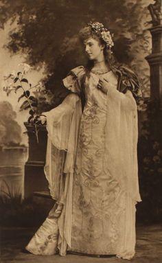 Lady Alice Montagu as Laure de Sade - 1897