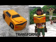 Comment faire Cool Kids Transformer Costume - YouTube