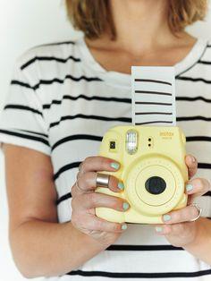 Summer stripes! Created by @erinloechner for #Instax