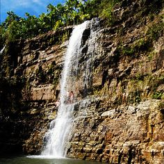 Sigua Falls, Guam. Guam is an organized, unincorporated territory of the United States in the western Pacific Ocean. It is one of five U.S. territories with an established civilian government.