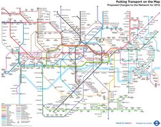 2016 Tube map from a 2004 perspective