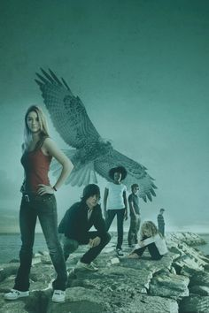 Maximum Ride the Flock. Can't get enough of this picture