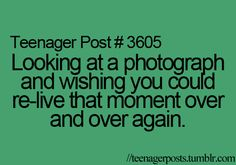 This is why I'm so obsessed with taking pictures; all those beautiful moments are now wonderful memories.
