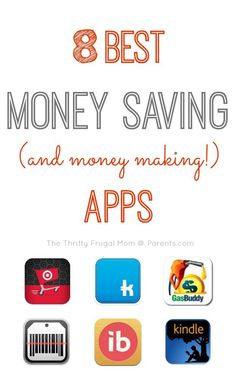 8 Best Money Saving (and money making!) Apps- I save enough to cover the cost of my cell phone bill some months!