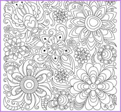 adults and children coloring page pdf printable by zentanglehouse - Children Coloring Book