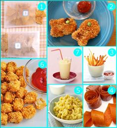 Homemade versions of classic kid food