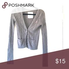 Gray sweat jacket Button up swear jacket. Soft and comfortable. Midriff Tops Button Down Shirts