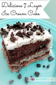 cream cake recipe loveourcrazylife delicious 7 layer ice cream cake ...
