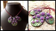 Alliums in polymer clay. By Shilpa Shajan.   week 22 , # 2015PCChallenge (Emajic Handmade)