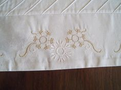 Gold Embroidered Border