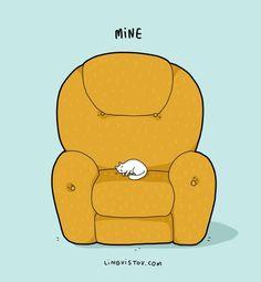 Cats cartoon comics Ideas for 2019 Cool Cat Beds, Cool Cats, Funny Cats, Funny Animals, Cat Jokes, Cat Humour, Cat Comics, Funny Comics, Beautiful Cats