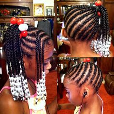 natural hair styles ith gel for girls Lil Girl Hairstyles, Girls Natural Hairstyles, Natural Hairstyles For Kids, Kids Braided Hairstyles, Hairstyles Pictures, Teenage Hairstyles, Little Girl Braids, Braids For Kids, Girls Braids