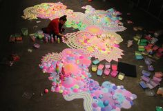 This Rainbow Carpet Is Truly Eye Candy | The Creators Project
