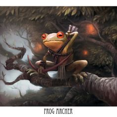 Frog archer by pc-0 on deviantART