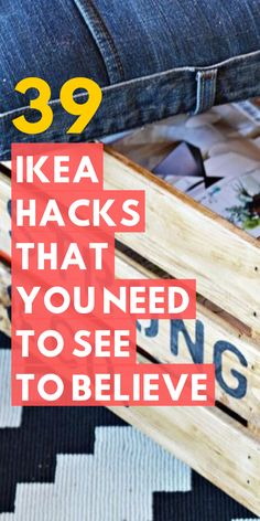 The best Ikea hack ideas we've seen. These Ikea hacks are stylish and allow you to create designer furniture cheaply. Find ideas for your Ikea hack project. Eco Furniture, Ikea Furniture Hacks, Furniture Design, Furniture Outlet, Furniture Stores, Discount Furniture, Rustic Furniture, Luxury Furniture, Cheap Villas