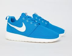 #Nike Roshe Run Blue