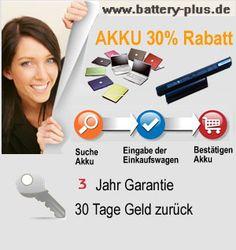 battery-plus.de -Der Accu Shop für günstige Accus und Zubehör, Notebook Accu, Accu für Laptops,Akkus, Netzteile, Ladegeröte, Ersatzteile & Z...