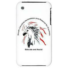 iPhone 3G Hard Case Educate + Assist Horse Rescue > Cases & Covers > South Carolina Awareness and Rescue for Equines