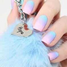 Coole nagels kleurencombo's voor je geweldige Ombre Mani baby blauw paars en Pi … – Nagel Kleuren Trendy Nail Art, Stylish Nails, Trendy Hair, Purple Ombre Nails, Pink Purple, Purple Sparkle, Ombre Color, Pink Glitter, Pink Color
